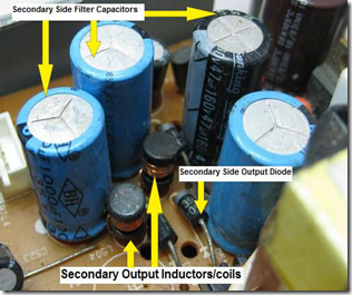 output capacitors
